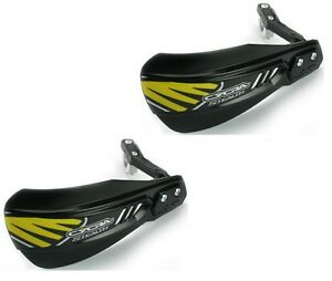 "0635-0414 Cycra Stealth Composite Motorcycle 7/8"" Handlebar Hand Guards Black"
