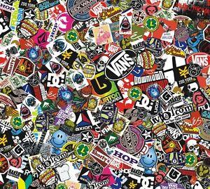 sticker bomb comic folie echte logos 152x50cm yamaha aerox. Black Bedroom Furniture Sets. Home Design Ideas
