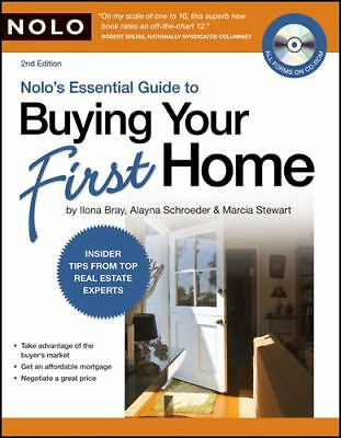 Nolo's Essential Guide to Buying Your First Home (book with CD-Rom &-ExLibrary