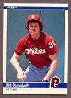 1984 Fleer Bill Campbell #U-23 Baseball Card