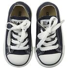 CONVERSE CHUCK TAYLOR A S TD TODDLER 7J237 Baby Boys Shoes Infant Blue SIZE 4