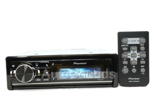 Pioneer DEH-80PRS RB Audiophile CD/MP3/WMA Player 16 Band Digital EQ Bluetooth