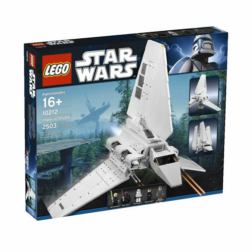 LEGO 10212 Star Wars  Imperial Shuttle BRAND nouveau and FACTORY SEALED  magnifique
