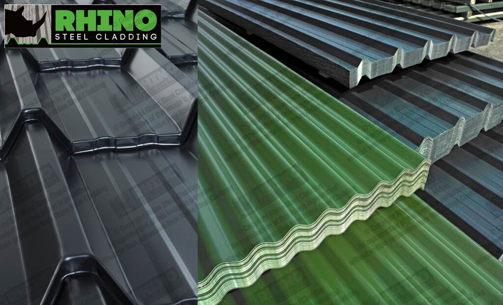 Roofing Sheets In Kings Lynn Box Profile Tile Effect