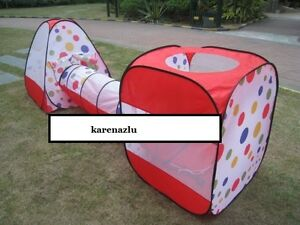NEW-Play-Tents-toys-kids-play-house-indoor-tent-3-of-set-free-100-ball-ball-Pit