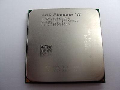 AMD Phenom II X4 945 3 GHz Quad-Core (HDX945WFK4DGM) Processor w / Grease