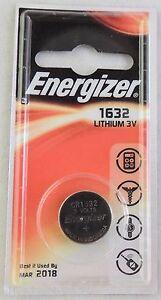 Détails Sur New 2 X Pile Energizer Cr 1632 Compatible Pour Montre Digitale Validite 072029