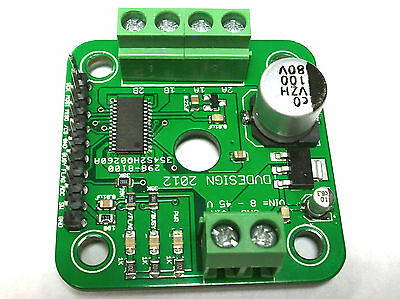 ST L6472 Based SPI Stepper Driver 7.0A Peak Current NEMA 17 Mounting for Arduino