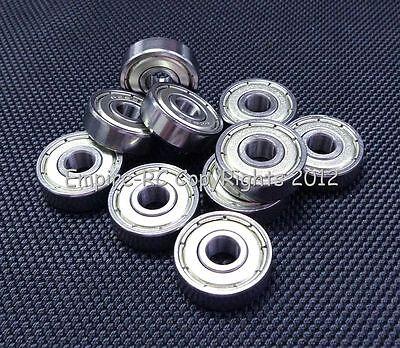 (10 PCS) 626ZZ (6x19x6 mm) Metal Shielded Ball Bearing Bearings 626z 6*19*6