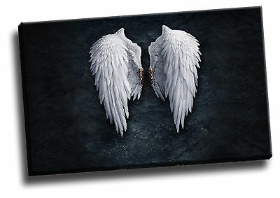 Banksy Angel Wings Giclee Canvas Wall Art Picture
