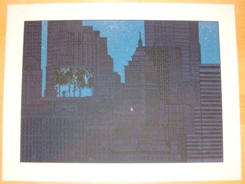 2008 In The Pines - Silkscreen Art Print s/n by Dan McCarthy