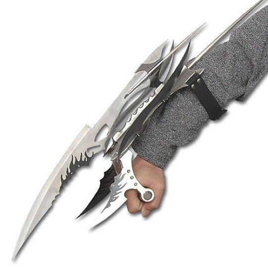 Fantasy X Men Shark Hunter Sting Ray Galaxy Claw Gauntlet Knife Blade Sword New