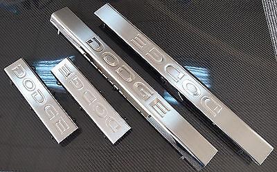 2009 - 2013 DODGE RAM 2500 3500  STEEL DOOR SILL GUARD 4 PC