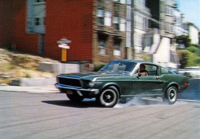 STEVE McQUEEN:  Bullitt 8x10  FORD MUSTANG color #7 Muscle Car Classic
