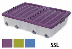 55L-LARGE-UNDERBED-PLASTIC-WHEELED-STORAGE-BOX-CONTAINER-WITH-FOLDING-LID