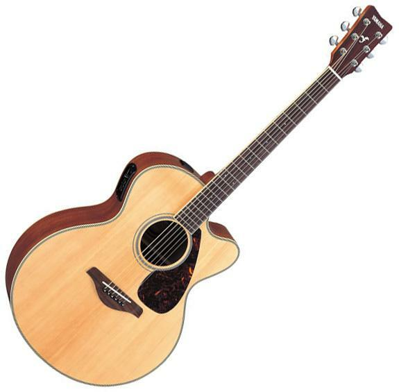 yamaha fjx720sc acoustic electric guitar ebay. Black Bedroom Furniture Sets. Home Design Ideas