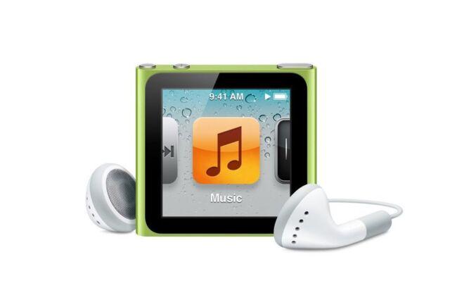 Apple iPod nano 6th Generation Green (8GB)