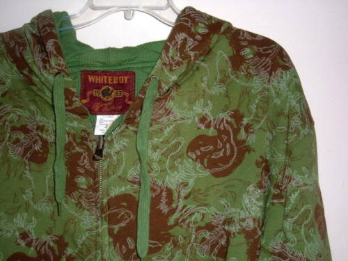NEW MENS 4X HEAVY REVERSIBLE  HOODED THERMAL JACKET  FIGHTING ROOSTERS $90 VALUE