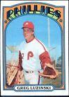 1972 Topps Greg Luzinski Philadelphia Phillies #112 Baseball Card