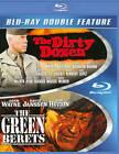 The Dirty Dozen/Green Berets (Blu-ray Disc, 2013, 2-Disc Set)