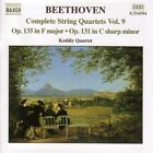 Ludwig van Beethoven - Beethoven: Complete String Quartets, Vol. 9 (2001)