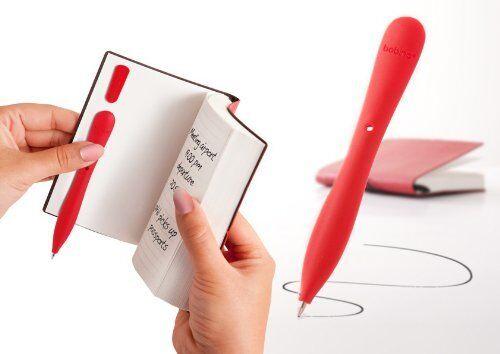Bobino Slim Single Ballpoint Pen HH44 Black,White,Lime,Red,Pink,Turquoise Blue