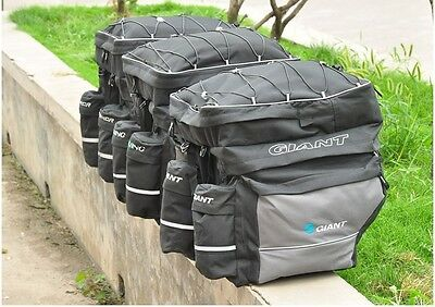 Bike Pannier Bicycle Rack Cycling Cargo Rear Pack Battery Bag with Water Proof