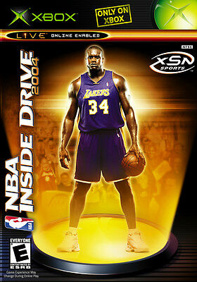 NBA Inside Drive 2004 (Microsoft Xbox, 2003, DVD-Box) Wie neu Top USK 0