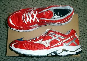 Mizuno-Wave-Nexus-G3-Team-Mens-Running-Shoes-NIB-Red-White-Various-Sizes