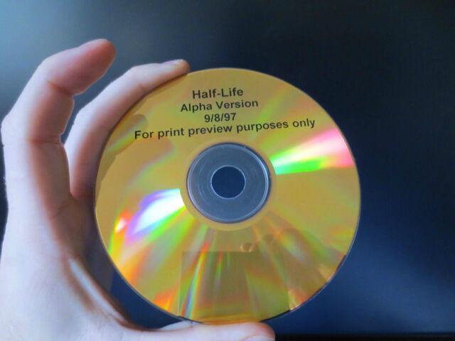 RARE TRAVAIL CD Demi-Vie Version Alpha 9/8/97 pas de prix de réserve
