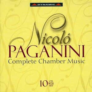 Paganini-Complete-Chamber-Music-10-CD-Italian-Import-Box-Set-2007-Dynamic