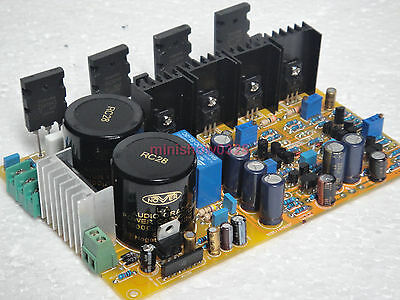DIY KIT FET difference input audio power amplifier board designed by weiliang