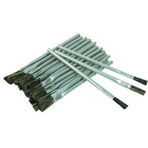 36 piece 1 2 quot horsehair bristle acid brushes to work with acids flux