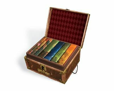 Harry Potter Limited Edition Boxed Set Hardcover: All 7 Books Collectible Wizard