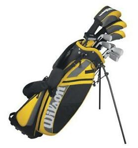 2012-Wilson-Ultra-Mens-Golf-Clubs-Package-Set-with-Bag-Putter-and-Covers-RH