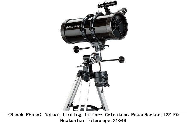 Celestron PowerSeeker 127EQ 127mm f/7.87 Newtonian Telescope