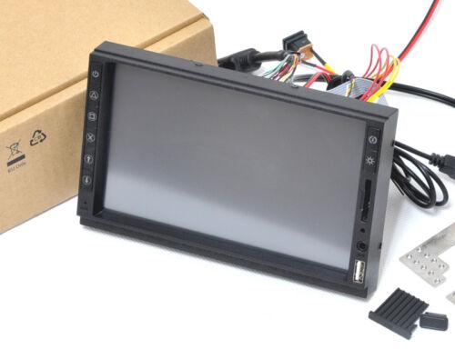 "2DIN IN DASH 7"" Samsung VGA Touch Screen Monitor KIT USB SD Raspberry Pi"