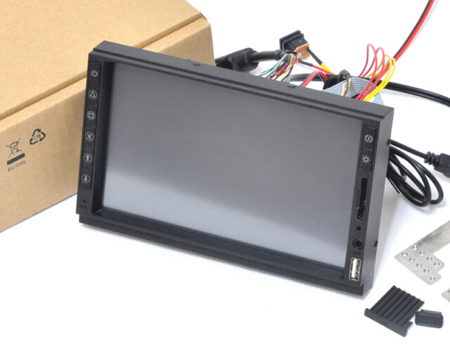 "2DIN IN DASH 7"" Samsung HDMI Touch Screen Monitor KIT USB SD Raspberry Pi"