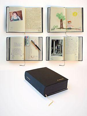 Black My Life Story Lifetime Diary 100 Years Of Memories Journal / Scrapbook