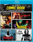 The Ultimate Comic Book 5-Movie Collection (Blu-ray Disc, 2013, 3-Disc Set)