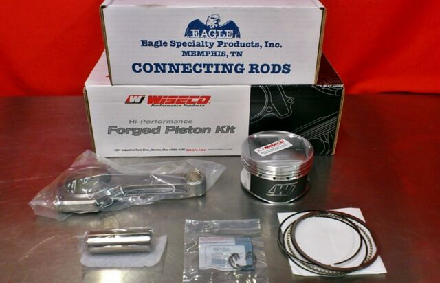 Eagle Rods Wiseco Pistons Subaru WRX STI EJ25 99.5mm K598M995 CRS5137S3D