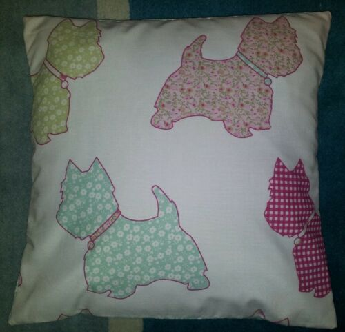 """Scotties Ditsy Flower Print Cushion Cover 14"""" Matches Next Bedding Bedroom Range"""