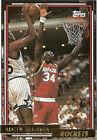 1992 - 1993 Topps Hakeem Olajuwon Houston Rockets #337 Basketball Card