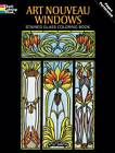 Art Nouveau Windows Stained Glass Coloring Book by Albert G. Smith (Paperback, 1993)