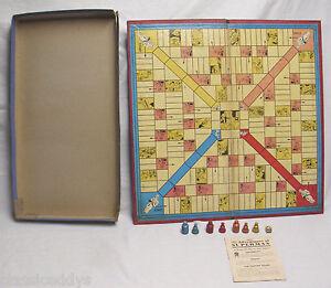 THE-ADVENTURES-OF-SUPERMAN-1940-MILTON-BRADLEY-BOARD-GAME