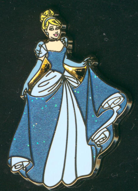 Princess Cinderella Glitter Dress Disney Pin 93362