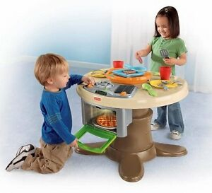 Fisher-Price-Servin-039-Surprsies-Cooking-Kitchen-Table-Play-Set-W9958