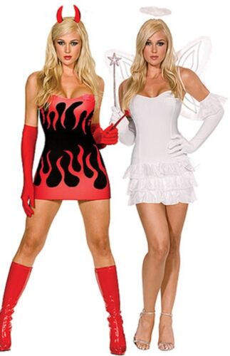 LADIES HALLOWEEN COSTUME VAMPIRE DEVIL WITCH ADDAMS FAMILY SWEENEY TOD SIZE 6-18