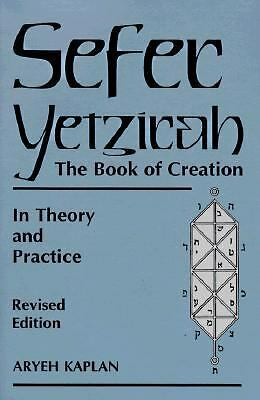 Sefer Yetzirah: The Book of Creation, Aryeh Kaplan, Acceptable Book