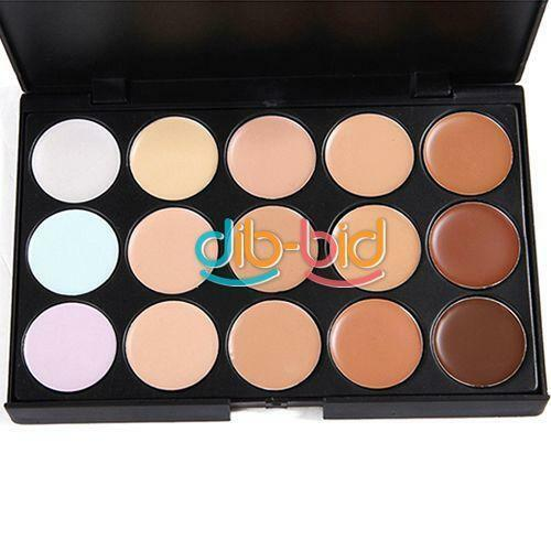 15 Full Color Cosmetic Makeup Beauty Face Eyeshadow/Concealer Camoufla Palette